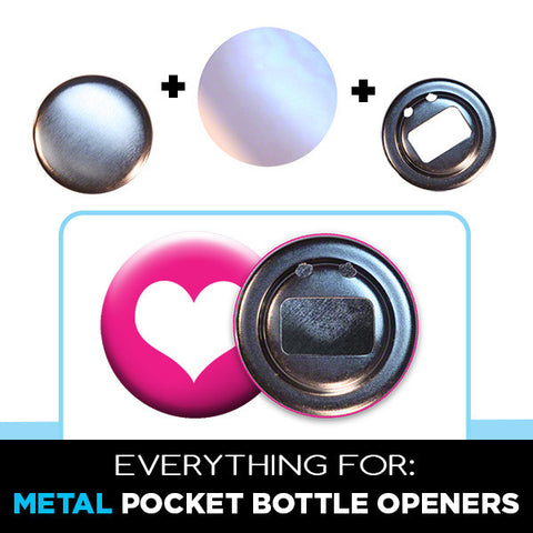 2.25 inch metal pocket bottle opener supplies