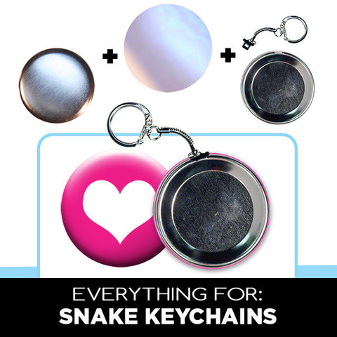 2.5 inch snake keychain parts