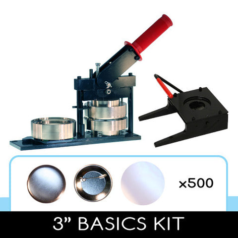 3 inch basics button diy kit