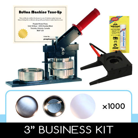 3 inch business kit for button making