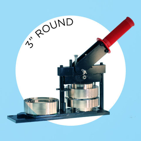 "3"" Standard Button Maker Machines and Start Up Kits"