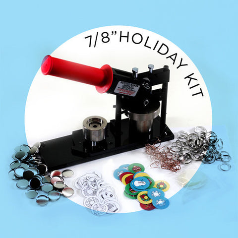 "7/8"" Holiday Button Fun Kit"