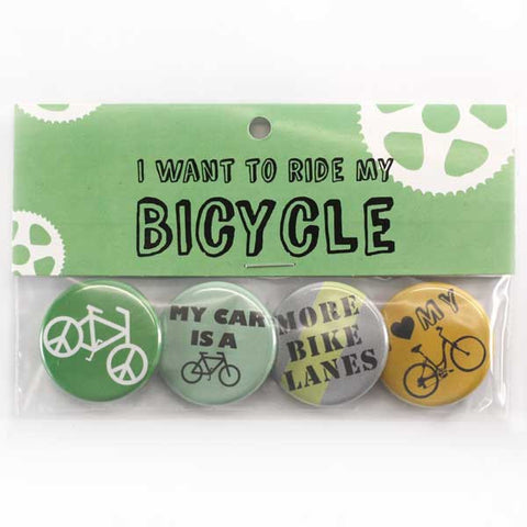 Bicycle (Neutrals) Button Pack