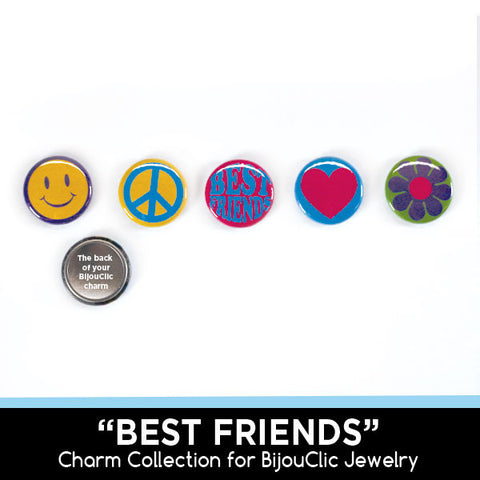 Best Friends 5 Charm Collection for BijouClic Jewelry