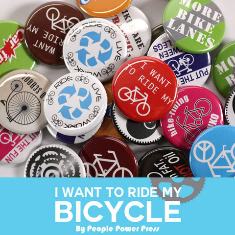 Bicycle (Brights) Buttons