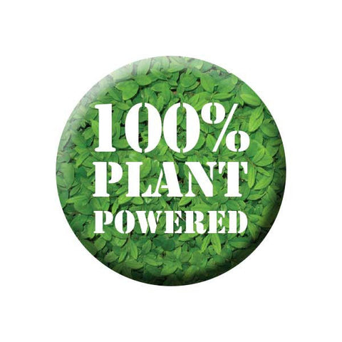 People Power Press Vegetarian and Vegan Button Collection Plant Powered