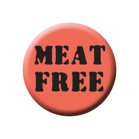 People Power Press Vegetarian and Vegan Button Collection Meat Free