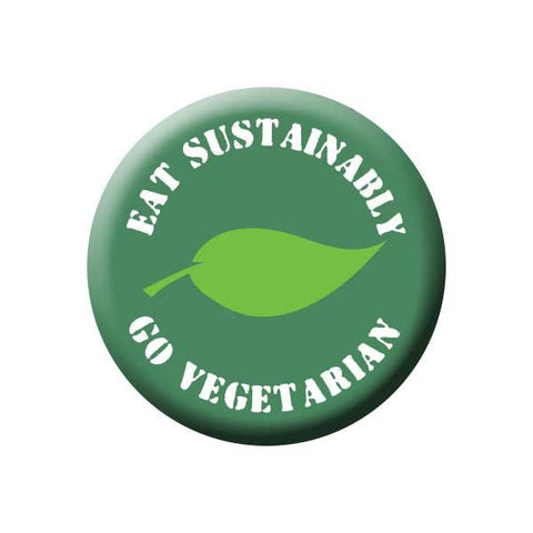 People Power Press Vegetarian and Vegan Button Collection Eat Sustainably