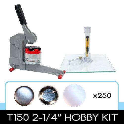 t150 2-1/4 inch button maker cheap hobby kit