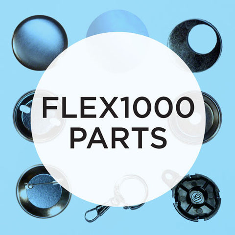 Parts & Supplies for the FLEX1000 Button Maker