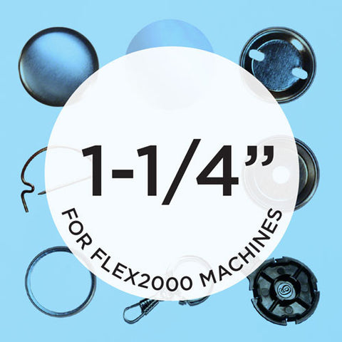 1.25 inch button parts