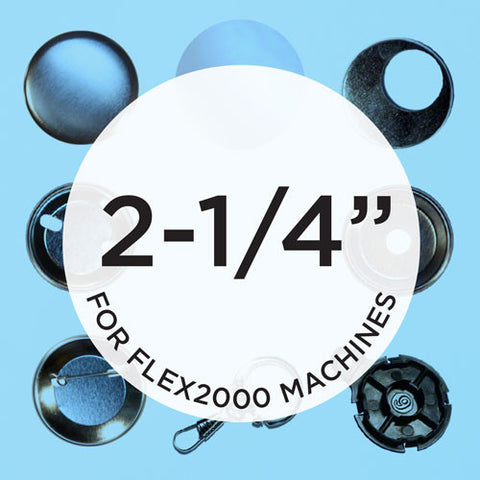 2.25 inch button parts for the flex2000