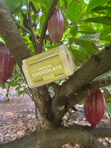 100% Hawai`i Grown & Made Brewing Chocolate