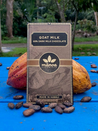 Goat Milk (69% Hawaiian cacao) Manoa