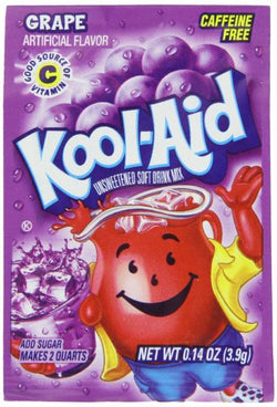 Kool Aid Pouch Grape