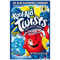 Kool Aid Twists Pouch 6.2g Blue Raspberry Lemonade