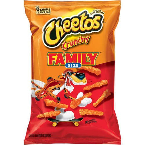 Cheetos Crunchy Family Size 580g
