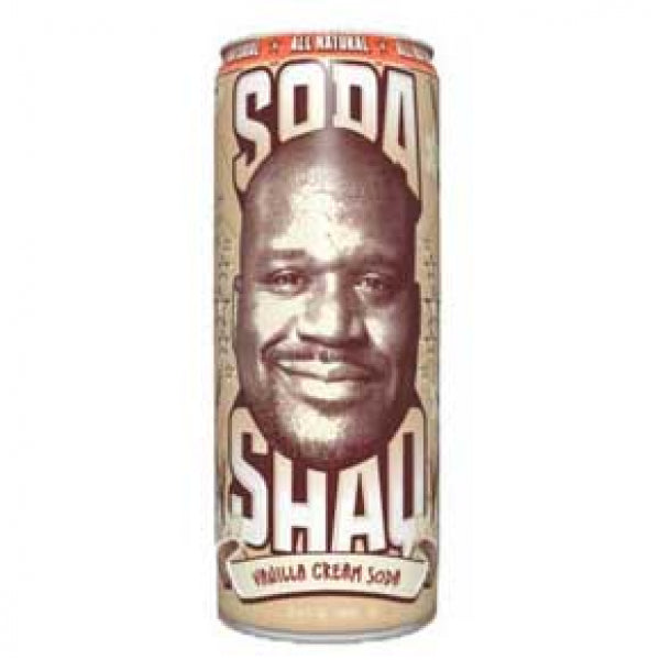 Arizona Soda Shaq 695ml Vanilla Cream