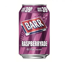 Barrs Raspberryade 330ml 39p