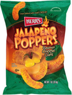 Jalapeno Popper Cheese Curls 28g