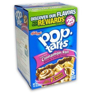Pop Tarts 8pk Cinnamon Roll