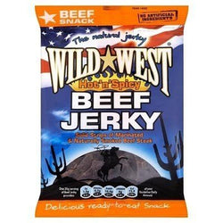Wild West Beef Jerky Hot & Spicy 25g