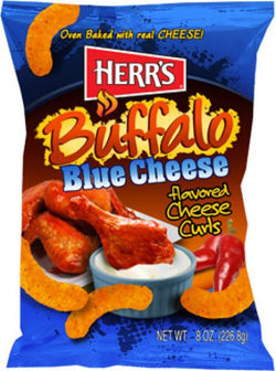Buffalo Blue Cheese Curls 198g