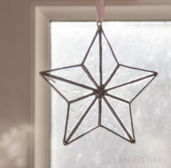 Clear Star Dangle