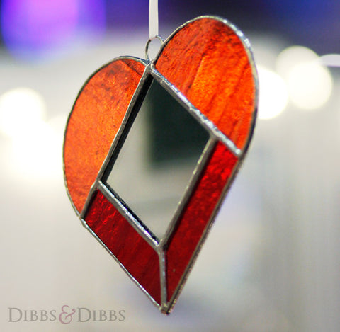 The Red Heart Dangle