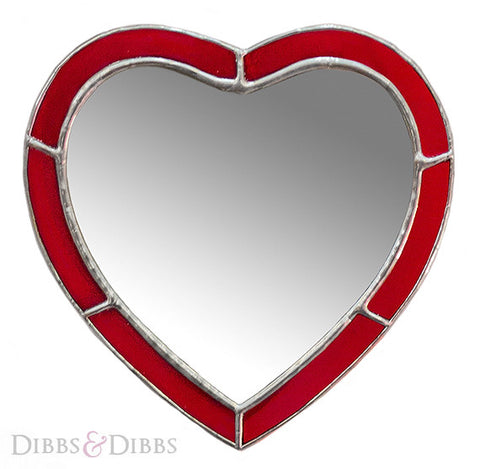 The Red Heart Mirror