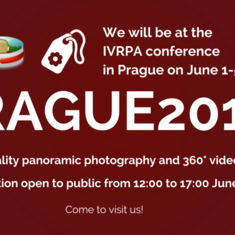 Panoramic Photography Exhibition at The IVRPA Conference in Prague Will Be Open To Public June 1-3