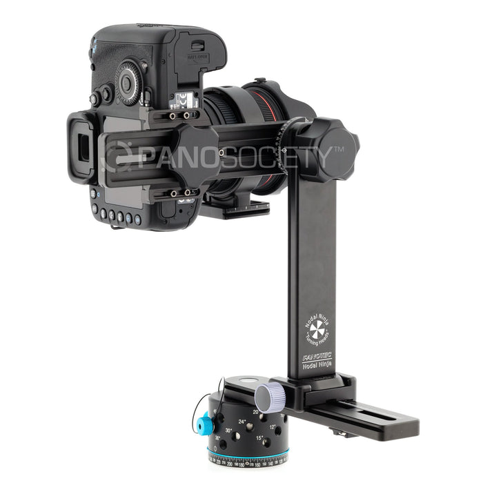 Nodal Ninja 6 NN6 RD16-II QR NA - Panoramic head with Advanced Rotator, Quick Release Nadir Adapter