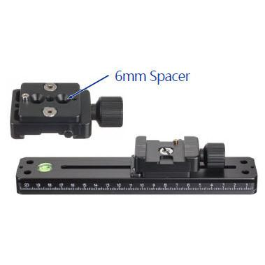 Accessories - 6mm Spacer Block For QRC