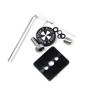 Install kit for mounting NN3 MKII to Advanced Rotator Accessories Nodal Ninja