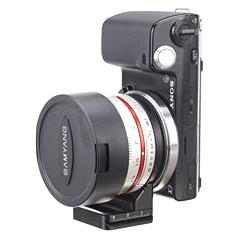 Nodal Ninja Kit for Mount Conversion of Samyang 7.5mm Lens to Sony E/Canon EF-M/Fuji X Accessories Nodal Ninja
