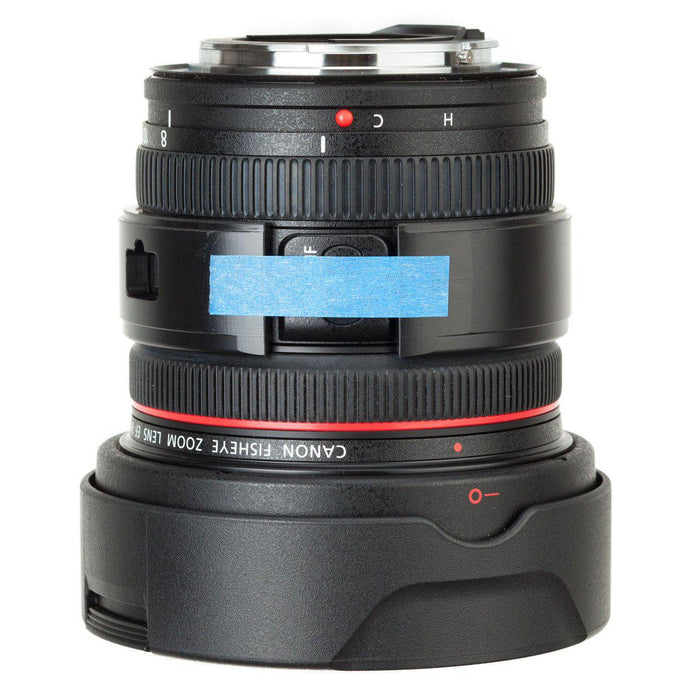 Nodal Ninja Lens Ring V2 - Canon 8-15mm - With Control Access (Factory Irregular) Accessories Nodal Ninja - Factory Irregular