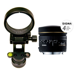 GTP - Lens Bundle: Google NODAL NINJA Ultimate R10 With Rotator Mini For Business View + Sigma 8mm Nikon Lens