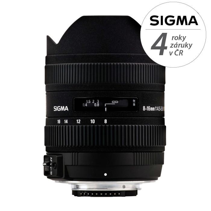 SIGMA 8-16/4.5-5.6 DC HSM Sony Lenses Sigma