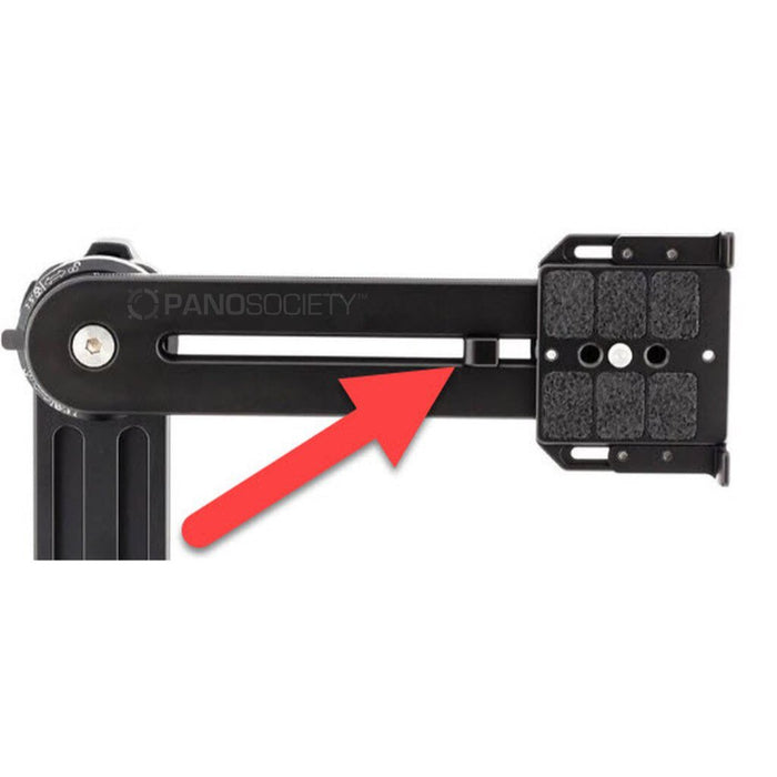 NN3 MK3 and NN6 upper rail stop Accessories Nodal Ninja