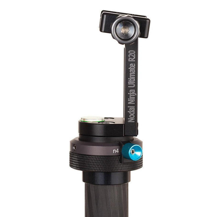 Panoramic Heads - Nodal Ninja Ultimate R20 Static 2.5/7.5 Degrees Tilt Head With Rotator Mini V2 (Selectable)