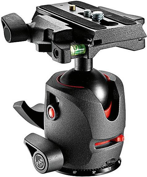 Manfrotto MH 054M0-Q5, tripod ball head with Q5 removable plate Tripod Heads Manfrotto