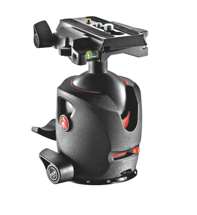 Manfrotto MH 057M0-Q5, tripod ball head with Q5 removable plate Tripod Heads Manfrotto