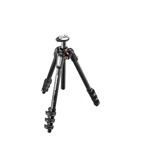 Tripods - Manfrotto MT 055CXPRO4, Carbon 4-section Horizontal Column Tripod