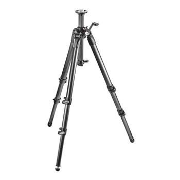 Manfrotto MT 057C3-G, carbon 3-section tripod with middle column gear Tripods Manfrotto