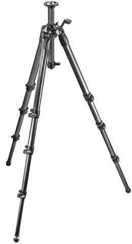 Tripods - Manfrotto MT 057C4-G, Carbon 4-section Tripod With Middle Column Gear