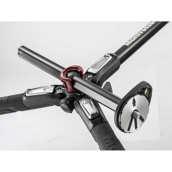 Manfrotto MT 190XPRO3, alu 3-section horizontal column tripod Tripods Manfrotto