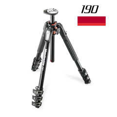 Tripods - Manfrotto MT 190XPRO4, Alu 4-section Horizontal Column Tripod