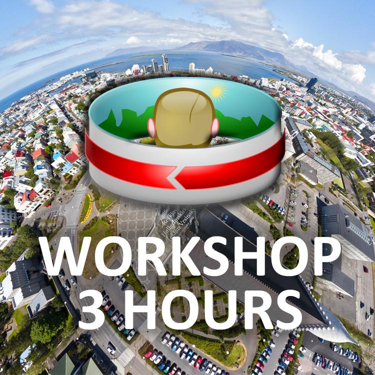 "Workshops - Private Panoramic Photography And Virtual Tour Workshop (3 Hours): ""I Want To Try It"" Or ""I Have A Lot Of Questions"""