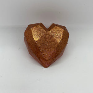 Geometric Heart Wax Melts