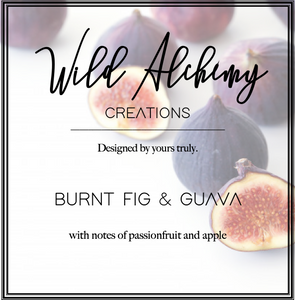 Burnt fig & Guava Reed Diffuser